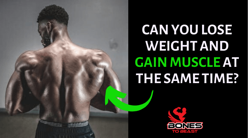 Featured image for losing weight and gaining muscle