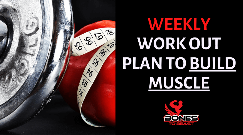 build muscles weekly