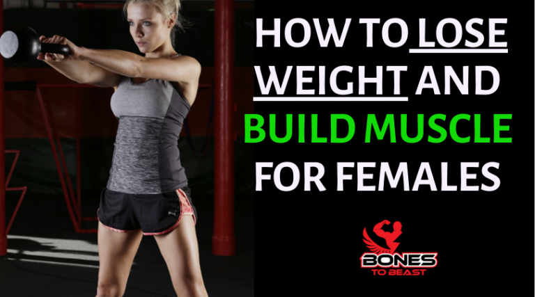 How to lose weight and build muscle for females
