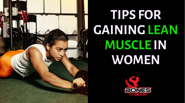 How A Woman Can Build Lean Muscle